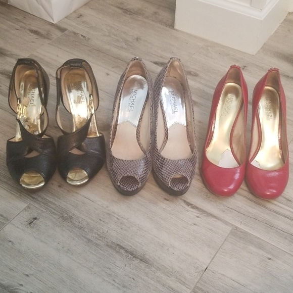 Michael Kors Shoes - Final Drop : Lot of 3 Michael Kors Shoes